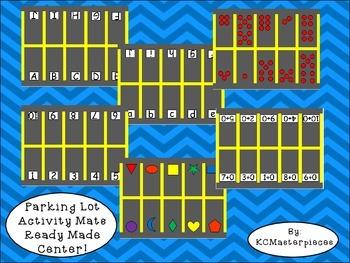 Parking Lot Activity Mats Center