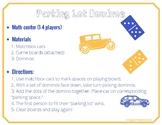Parking Lot Dominos (Math Center)