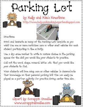 Parking Lot Fun