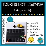 Parking Lot Learning - Colors, Shapes, Numbers, Letters/Sounds