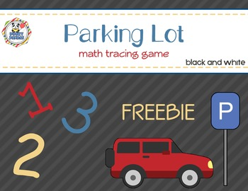 Parking Lot - Math tracing game