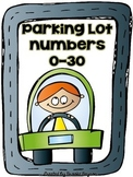 Parking Lot Practice - Numbers 0-30