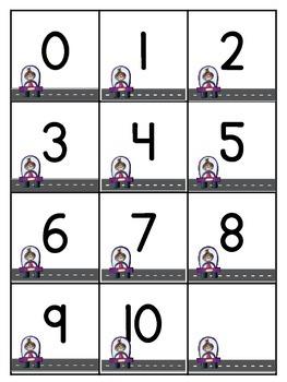 Parking Lot Practice - Ten and Twenty Frames