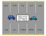 Parking Lot - Sight Words