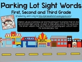 Parking Lot Sight Words with 1st, 2nd and 3rd Grade Dolch