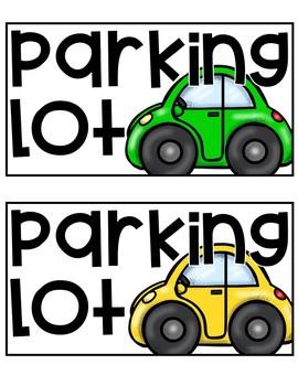 Parking Lot for Unfinished Work