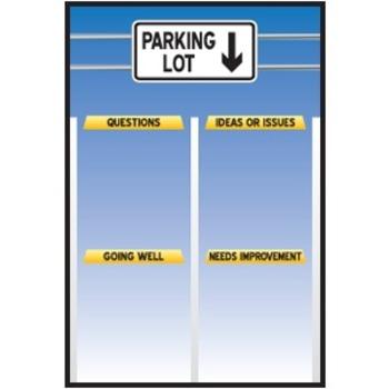 Parking Lot poster design (art work only)