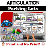 Parking Lots for Speech Therapy: Early Developing Sounds