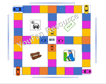Parking lot game Number sequences sequencing and bonds