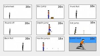 Parkour (Gymnastics) Skill Quest for PE