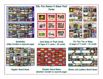 Parks 6 Board Game Bundle