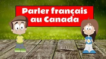 Parler français au Canada