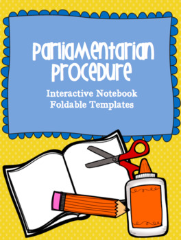 Parliamentary Procedure Template