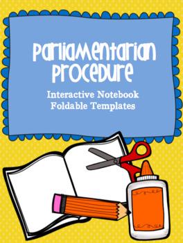 Parliamentary Procedure Template