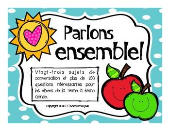 Parler en français : Speaking in French