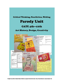 Parodies for GATE Art History Non-Fiction Graphic Design