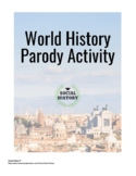 World History Parody Activity with Rubric