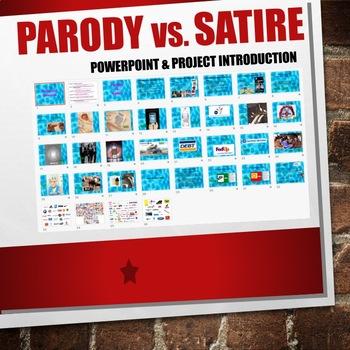 Parody and Satire Powerpoint
