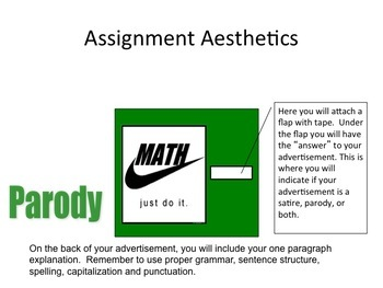 Parody And Satire Powerpoint By Creativity And Assessment In Ela