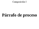 Párrafo de proceso