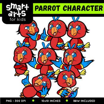 Parrot Digital Clip Art