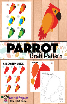 All About Parrots Nonfiction Unit