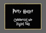 Parry Hotter Digital Font, .TTF File, Commercial Use OK, I
