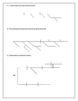 Part 1 Cast Away Sentence Diagrams- Advanced