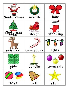 Christmas ESL Games