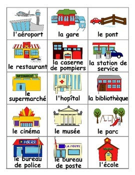 Community Buildings / La Communauté FRENCH Games