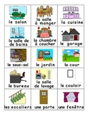 Rooms of the House / La maison FRENCH Games