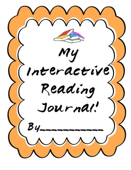Part 1- Interactive Reading Journal