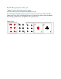 Part 1 NYS Common Core Regents -Passage C Card Game