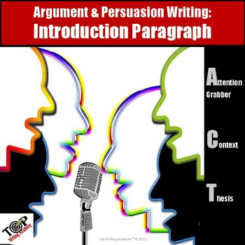 Persuasive Writing Introduction Paragraph