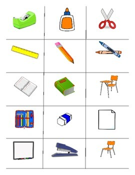 classroom objects foreign language games spanish italian german. Black Bedroom Furniture Sets. Home Design Ideas
