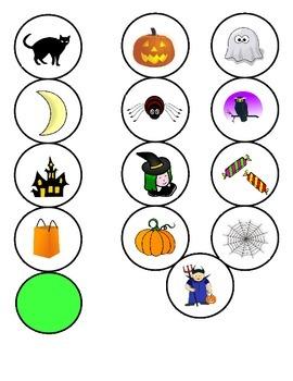 Halloween FOREIGN LANGUAGE Games (Spanish, Italian, German)