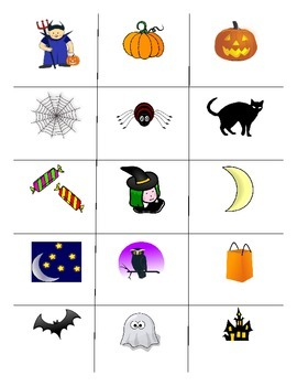Halloween FOREIGN LANGUAGE Games (Spanish, Italian, German)