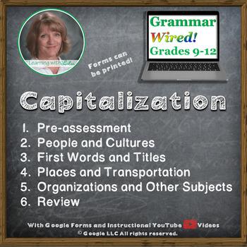 Part 10 Capitalization - Google for Grammar