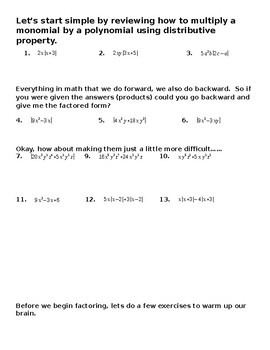 Part 2 Semester 1  Unit 1 Quadratics