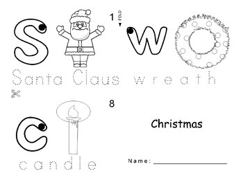 Christmas ESL Workbook
