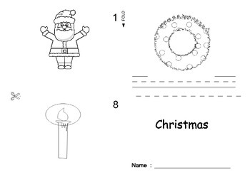 Christmas ESL Workbook