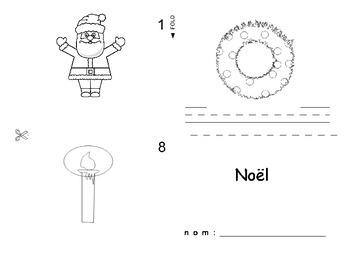 Christmas / Noel FRENCH Workbook