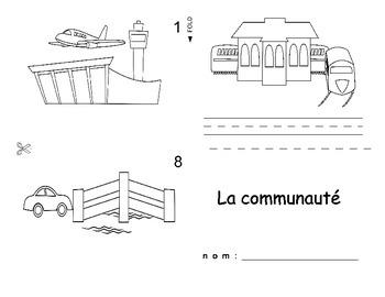 Community Buildings / La Communauté FRENCH Workbook