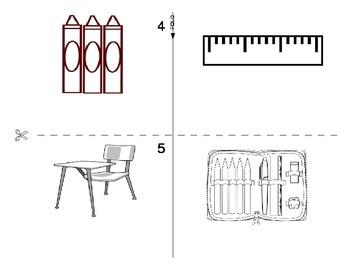 Classroom Objects FOREIGN LANGUAGE Workbook (Spanish,Italian,German)