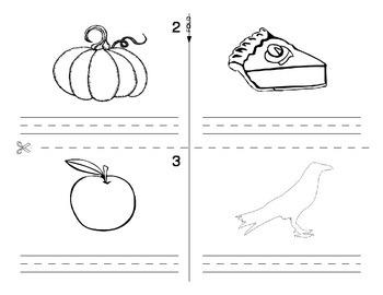 Thanksgiving / Fall FOREIGN LANGUAGE Workbook (Spanish,Italian,German)