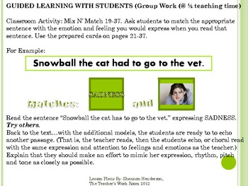 Part I: Teaching Students to Read with Expression and Feeling