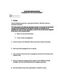 Part II of cult of Personality - worksheets and forms of p