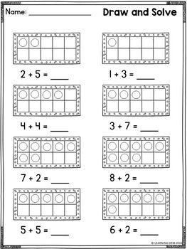 Part Part Whole Puzzles and Worksheets