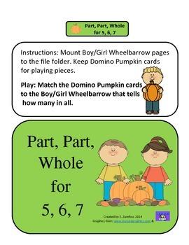 Part, Part, Whole 5, 6, 7: File Folder
