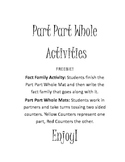 Part Part Whole Activities